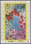ANK Nr. (19) a - (19) j, Michel Nr. X - XIX, Nicht verausgabter Kleinbogen