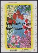 Österreich, 2007, ANK Nr. (19) a U - (19) j U, Michel Nr. X U - XIX U, Nicht verausgabter Kleinbogen