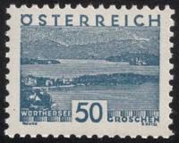 541, 50 Groschen Blau, Landschaftsbilder ( Kleine Landschaft ) per 10 Stück, postfrisch
