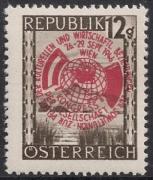 ANK Nr. 792, Michel Nr. 784, Sowjetunion-Kongreß, postfrisch