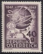 ANK Nr. 846, Michel Nr. 837, 100 Jahre Telegraphie, postfrisch