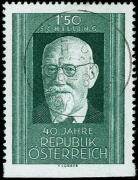 Österreich, 1958, ANK Nr. 1074 Uu, MICHEL Nr. 1057 Uu, 40. Gründungstag der Republik Österreich