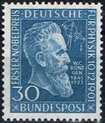 Michel Nr. 147, Wilhelm Röntgen, postfrisch
