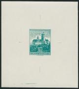 Österreich 1957/70 ANK Nr. (14b) P U MICHEL Nr. B VII Freimarken: Bauwerke und Baudenkmäler NICHT VERAUSGABTER WERT zu 1 Schilling 45 Groschen