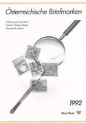 Österreich, Jahreszusammenstellung der Österreichischen Post Nr. 13, Jahr 1992