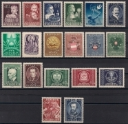 Österreich Jahrgang 1949 postfrisch, DB GST-SA