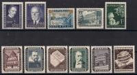 Österreich Jahrgang 1953 postfrisch komplett ohne Vögel, DB D686