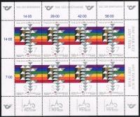 ANK Nr. 2350, Michel Nr. 2315, Tag der Briefmarke 2000 im Kleinbogen, postfrisch