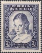 ANK Nr. 993, Michel Nr. 976, Internationale Kinderkorrespondenz, postfrisch, DB D667
