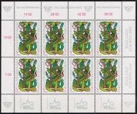ANK Nr. 2292, Michel Nr. 2260, Tag der Briefmarke 1998 im Kleinbogen, postfrisch
