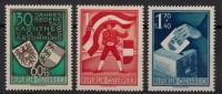 Österreich, 1950, ANK Nr. 964 - 966, MICHEL Nr. 952 - 954, 30. Jahrestag der Kärntner Volksabstimmung, postfrisch, DB KOHO