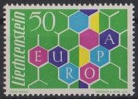 Fürstentum Liechtenstein, Michel Nr. 398, Europamarke 1960, postfrisch
