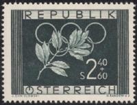 ANK Nr. 985, Michel Nr. 969, Olympische Spiele 1952, postfrisch, DB D667