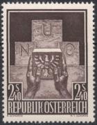 ANK Nr. 1034, Michel Nr. 1025, Aufnahme Österreichs in die Vereinten Nationen, postfrisch, DB D667