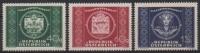 Österreich, 1949, ANK Nr. 955 - 957, MICHEL 943 - 945, 75 Jahre Weltpostverein UPU 1949, postfrisch, DB D667