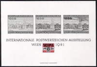 Blockausgabe Nr. 7, Internationale Briefmarkenausstellung