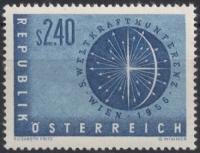 Österreich, 1956, ANK Nr. 1035, MICHEL Nr. 1026, Weltkraftkonferenz Wien 1956, postfrisch, DB D667