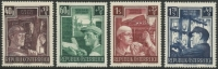 ANK Nr. 977 - 980, Michel Nr. 960 - 963, Wiederaufbau II, postfrisch, DB D667