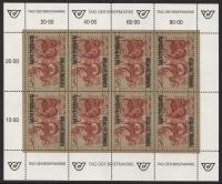 ANK Nr. 2063, Michel Nr. 2032, Tag der Briefmarke 1991 im Kleinbogen, postfrisch
