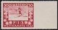 """ANK Nr. 553Ur, Michel Nr. 553Ur, FIS Wettkämpfe Innsbruck 1933 - 30 Groschen RECHTS UNGEZÄHNT !!!, ungebraucht, ATTEST Soecknick """"echt und einwandfrei"""" - TOP - RARITÄT DER 1. REPUBLIK - nur 3 Stück bekannt inklusive dieser Briefmarke"""