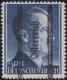 """ANK Nr. 696 II, Michel Nr. 696 II/VIII, 5 RM Grazer Ausgabe mit seltenem Plattenfehler Strich am H Fuß, postfrisch, ATTEST Soecknick """"echt und einwandfrei"""", DB SK"""
