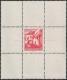 """Österreich, 1961, ANK Nr. 1090 P III, MICHEL Nr. 1102, Freimarkenausgabe: Bauwerke und Baudenkmäler - 20 Groschen """"Mörbisch"""" als gezähnter EINZELABZUG im Kleinbogenformat in lebhaftorangerot, postfrisch, ATTEST Dr. Glavanovitz """"echt + einwandfrei"""" DB KIMA"""