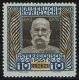 """156 z, 10 Kronen 60. Regierungsjubiläum Kaiser Franz Joseph auf grauem Kupferdruckpapier, postfrisch, ATTEST Soecknick """"echt und einwandfrei"""", SEHR SELTEN !!!"""