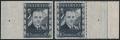 Österreich, 1936, ANK Nr. 588 U + 588, 10 S Dollfuß UNGEZÄHNT und 10 S Dollfuß gezähnt mit überbreitem Rand, je MIT NADELPUNKT, postfrisch, je mit ATTEST Soecknck