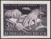 Österreich, 1962, ANK Nr. 1158 PU, MICHEL Nr. 1127 PU, Tag der Briefmarke 1962, Probedruck UNGEZÄHNT auf kartonähnlichem Papier, postfrisch, BEFUND Soecknick
