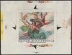 """Österreich, 1968, ANK Nr. 1311 PU, MICHEL Nr. 1279 PU, Barocke Fresken TROGER ( Röhrenbach - Greillenstein ), Probedruck, ungezähnter EINZELABZUG im Kleinbogenformat in der verausgabten Farbe, postfrisch, ATTEST Soecknick """"echt und einwandfrei""""  DB PR1845"""