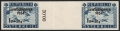 Österreich, 1954, ANK Nr. 1007 ZW U, Michel Nr. 998 ZW U, 1 S + 20 g