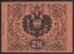 """ANK Nr. MH 4, Michel Nr. MH 3, Markenheftchen 1918 zu 2.00 Kronen in rotorange, postfrisch, ATTEST Soecknick """"echt und einwandfrei"""", seltenstes Markenheftchen !!!, DB CG"""