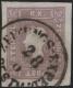 """Österreich, 1858/59, Zeitungsmarken-Ausgabe 1858/59, MICHEL Nr. 17 a, Ferchenbauer Nr. 17 a, 1,05 Kreuzer entwertet mit """" ZEITUNGS-EXPED: PESTH 28 ... """" - Die Marke ist rundum breitrandig - BEFUND Dr. Ferchenbauer """" P(RACHTSTÜCK)!"""" DB VF2226"""