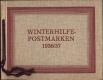 ANK Nr. 628 - 631, Michel Nr. 628 - 631, Winterhilfe III - 3. Ausgabe 1936 in seltener Geschenkmappe bzw. Geschenkheft der Österreichischen Post, selten !!! DB M1072