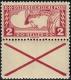 """Österreich, 1917, ANK Nr. 219 D Kr, MICHEL Nr. 219 D Kr, Eilmarke 2 Heller mit anhängendem Andreaskreuz in Linienzähnung Lz. 12 ½ : 11  ½, postfrisch, ATTEST Soecknick """"echt und einwandfrei"""" - TOP-RARITÄT !! - DB M803"""