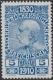 """164 P, Jubiläumsausgabe 1910, 5 Heller Probedruck in Blau, postfrisch !!!, BEFUND Soecknick """"echt und einwandfrei"""", SEHR SELTEN !!!, DB"""