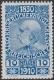 """166 P, Jubiläumsausgabe 1910, 10 Heller Probedruck in Blau, postfrisch !!!, BEFUND Soecknick """"echt und einwandfrei"""", SEHR SELTEN !!!, DB"""