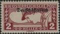"""Österreich, 1919, ANK Nr. 252 P, MICHEL Nr. 252 P, Eilmarke """"Merkurkopf"""" - 2 Heller mit PROBEAUFDRUCK, postfrisch, ATTEST Soecknick """"echt und einwandfrei"""" - SEHR SELTEN !! - DB VF2459"""