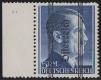 """ANK Nr. 696 I PLF II, Michel Nr. 696 I PLF VI, Grazer Ausgabe, 5 RM mit dem seltenen Plattenfehler Punkt im h, Randstück vom linken Bogenrand, postfrisch, ATTEST Soecknick """"echt und einwandfrei"""""""