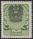 """Österreich 1920/21 ANK Nr. 316xa, MICHEL Nr. 316xa, 3 Kronen Wappenzeichnung mit extrem stark verschobenem Mittelstück, postfrisch, KURZBEFUND Soecknick """"echt und einwandfrei"""" - MIT DERART STARK VERSCHOBENEM MITTELSTÜCK SEHR SELTEN !!, DB AF10760"""