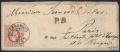 Österreich, 1867, Nr. 41 I a, Freimarkenausgabe 1867, 50 Kreuzer braun, grober Druck auf Brief-Kuvert von WIEN nach PARIS, ATTEST Dr. Ferchenbauer