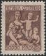"""Österreich, 1924, ANK Nr. 444 P, MICHEL Nr. 444 P, Jugend- und Tuberkulosefürsorge - NICHT VERAUSGABTE BRIEFMARKE MIT NOMINALE 50.000 Kronen ANSTATT 500 Kronen in Ockerbraun, ATTEST Soecknick """"echt und einwandfrei"""" TOP-RARITÄT !! - DB HDR448"""