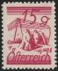 """Österreich, 1925, ANK Nr. 456 P, MICHEL Nr. 456 P, Freimarke Kornmandeln - Farbprobe in Karminlila in Lz. 12 ½, ATTEST Soecknick """"echt und einwandfrei"""" - SEHR SELTEN !! -  DB M874"""