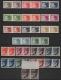 Österreich, 1925/30, ANK Nr. 468 U - 487 U, MICHEL Nr. 468 U - 487 U, Flugpostausgabe 1925/30 Pilotenkopf/Kranich, KOMPLETTE SERIE UNGEZÄHNT in waagrechten Paaren, Pilotenkopfwerte postfrisch, Kranichwerte gummiert, ATTEST Soecknick