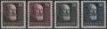 Österreich, 1928, ANK Nr. 494 - 497, MICHEL Nr. 494 - 497, 10 Jahre Republik bzw. Dr. Michael Hainisch, postfrisch, DB D498
