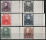 Österreich, 1931, ANK Nr. 524 - 529, MICHEL Nr. 524 - 529, Österreichische Dichter, einheitlich vom rechten Bogenrand, postfrisch, BEFUND Stari