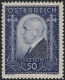 """Österreich, 1932, ANK Nr. 544, MICHEL Nr. 544, Tod von """"Dr. Ignaz Seipel"""", postfrisch, DB D494"""