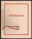 """Österreich, 1936, ANK Nr. 588, MICHEL Nr. 588 - 10 S Dollfuß - GESCHENKMAPPE mit 10 Schilling Dr. Engelbert Dollfuß Briefmarke, ATTEST Soecknick """"echt und einwandfrei"""" - SEHR SELTEN !! - DB D835"""