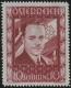 """Österreich, 1936, ANK Nr. 588 P II, MICHEL Nr. 588 P II, 10 S Dollfuß - Probedruck in Lilarot, ohne Gummierung wie hergestellt, ATTEST Soecknick """"echt und abgesehen von einem  aus ästhetischen Gründen entfernten Makulierungsstrich einwandfrei"""", DB M1091"""