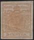 """Österreich Lombardei-Venetien, Freimarken-Ausgabe 1850, 5 Centesimi gelbocker, postfrisch, ATTEST Dr. Ferchenbauer """"Es handelt sich um ein postfrisches erlesenes PRACHTSTÜCK !"""" - DB 6068"""